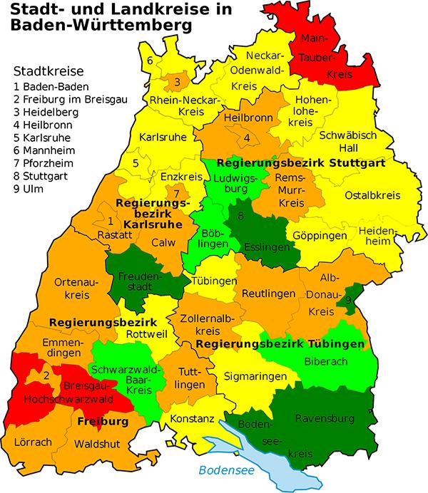 Verkehrsbericht Baden Württemberg