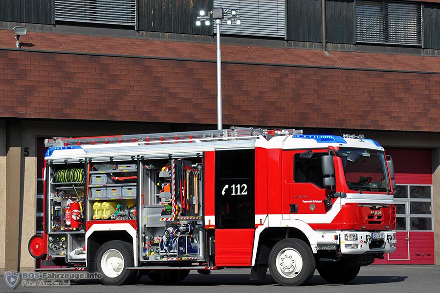 AT3 Das HLF 20/16 der FF Erlangen war der 2500. Rosenbauer AT