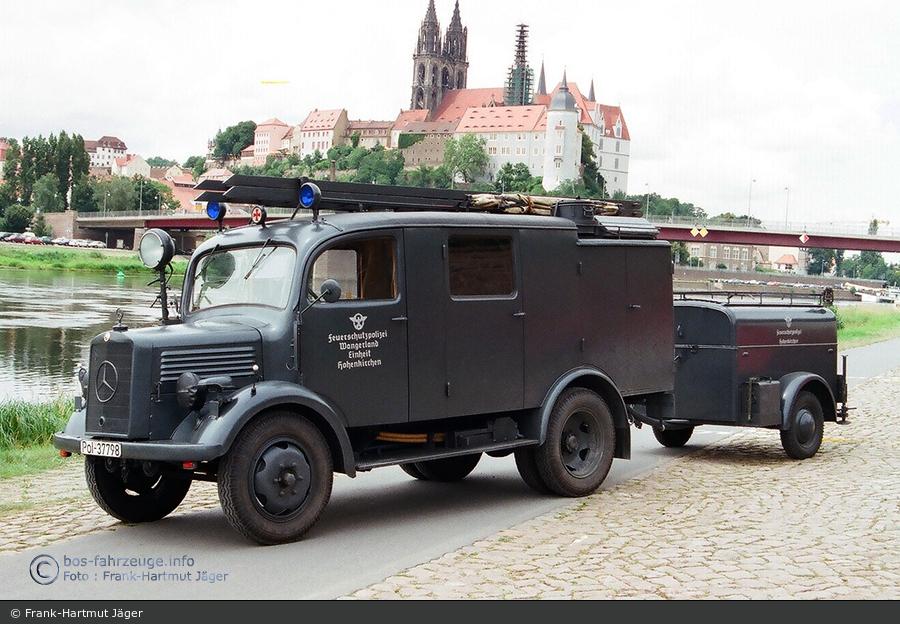 die haubenfahrzeuge der nachkriegszeit - teil 2 - bos-fahrzeuge