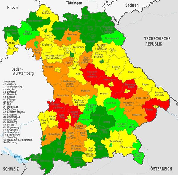 Landkreis Würzburg Karte.Statistik 2018 02 Bos Fahrzeuge Einsatzfahrzeuge Und Wachen Weltweit